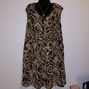 NWOT Lane Bryant paisley print dress